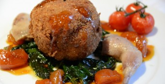 Cuisine du chef Laurent Trochon
